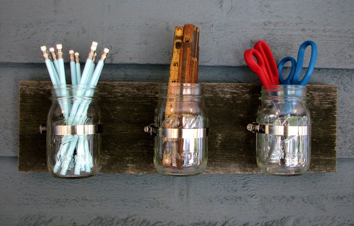 Reusing and Recycling Candle Jars